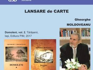 Lansare de carte a universitarului Gheorghe C. Moldoveanu, vineri, la USV