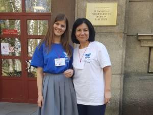 USV a fost reprezentată de conf. univ. dr. Otilia Clipa și de studenta Maria Mandici