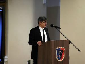 Cătălin Mihuleac la Muzeul de Istorie din Suceava, la comemorarea deportării evreilor în Transnistria