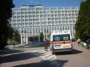 Copilul a ajuns la Spitalul Județean Suceava cu leziuni în zona capului