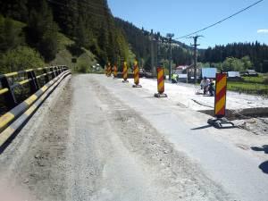 DN 18, care asigură accesul spre Maramureş, prin Pasul Prislop, a intrat în lucrări de reabilitare capitale