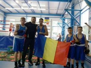 Delegația suceveană prezentă la turneul din Republica Moldova