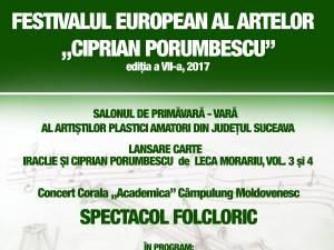 """Festivalul European al Artelor """"Ciprian Porumbescu"""" - Ediția a VII-a"""
