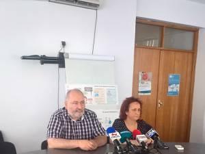 Dr. Dinu Florin Sădean și dr. Cătălina Zorescu