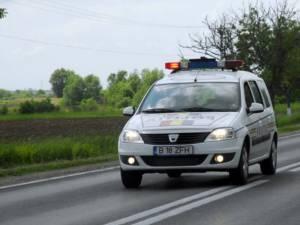 Poliţiştii au plecat în urmărire, cu autospeciala de serviciu. Foto:observatoruldeprahova.ro