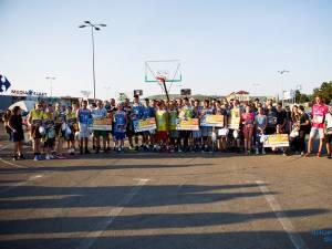 Shopping City Suceava a fost weekendul trecut gazda celui mai mare campionat de baschet din judeţul Suceava, Phoenix Cup - Baschet 3 x 3