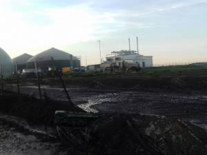 Urmările explozie staţie de biogaz