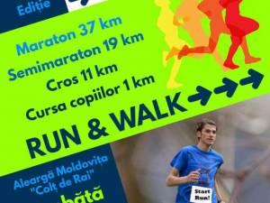 """Competiţia de alergare montană Moldoviţa """"Colţ de Rai"""""""
