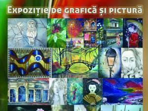 Expoziție de grafică și pictură