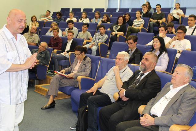 Alexandru Mironov și Cristian Român au fost invitații speciali ai RoSEF 2017