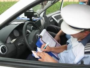 Peste 1.500 de amenzi date de poliţiştii suceveni în perioada 12-18 iunie