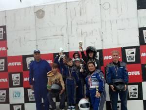 Premii pentru elevi de la Palatul Copiilor, la Campionatul Naţional de Karting Şcolar