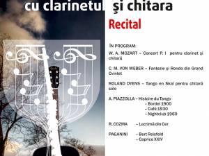 Recital de clarinet și chitară, la Muzeul de Istorie