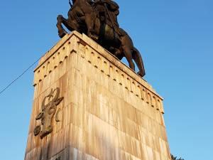 Statuia ecvestră a domnitorului Ștefan cel Mare