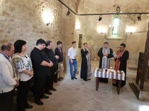 Slujba de pomenire a voievozilor Moldovei, din capela de la Cetatea de Scaun, a marcat debutul Programului Ştefanian