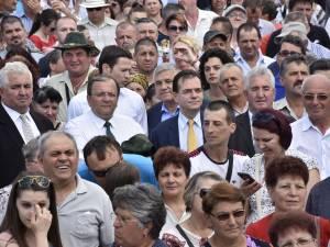 Orban a asistat în mulțime la concertul maestrului Nicolae Botgos și al orchestrei Lăutarii din Chișinău