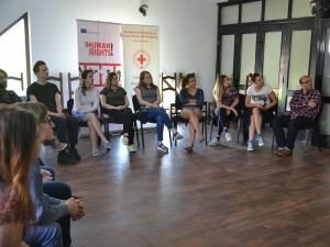 Crucea Roşie Suceava implementează proiectul internaţional I am Human, I have Rights!