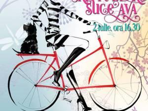 SkirtBike, parada fetelor cochete pe bicicletă, duminică, la Suceava