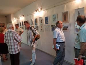 Vernisajul Expoziției Internaționale de Grafică Satirică Bucovina – România