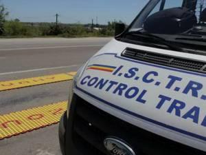 Autospecială a Inspectoratului de Stat pentru Controlul Transporturilor Rutiere (ISCTR) Suceava