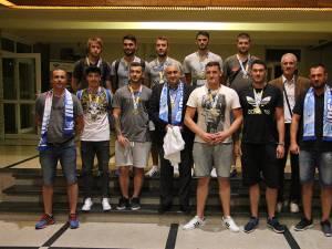 """Echipa de handbal a Universităţii """"Ştefan cel Mare"""" Suceava a reuşit în premieră o performanţă extraordinară, şi anume să câştige Campionatul European Universitar"""