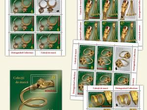 """Domeniul fascinant al bijuteriilor, în emisiunea de mărci poştale """"Colecţii de marcă"""""""