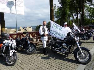"""""""Hai în Bucovina"""", mesajul purtat de motociclişti în pelerinajul către Cacica"""