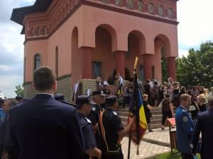 Inmormantarea agentului de politie Sorin Vezeteu