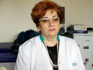 Secretarul general al Colegiului Medicilor Suceava, dr. Irina Badrajan
