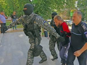 Ioan Beșa, adus cu masuri sporite de securitate în fața judecătorilor