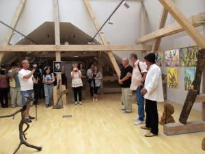 Expoziţia retrospectivă a taberelor de creaţie din Poiana Dacilor - Păltinoasa