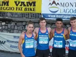 Aur şi argint la echipe la mondiale pentru Andreea Doroftei, Dorin Rusu şi Gabriel Bularda