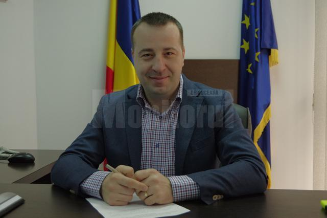 Viceprimarul Lucian Harşovschi, inițiatorul proiectului