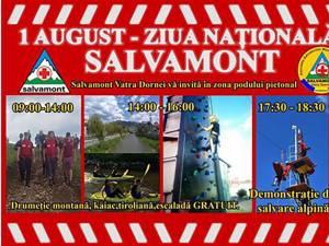 Ziua Naţională a Salvamontului, 1 august, marcată la Vatra Dornei