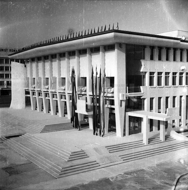 Sala de spectacole a Casei de Cultură avea la data construirii sale una dintre cele mai bune acustici din România