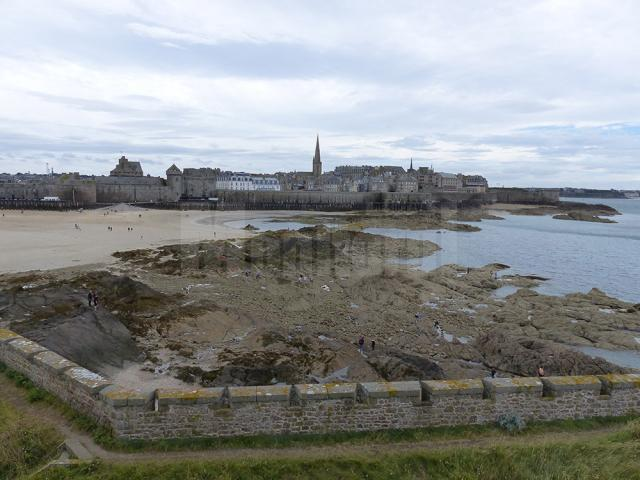 Orașul cetate Saint Malo