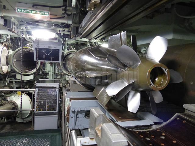 Focoase pe submarinul nuclear