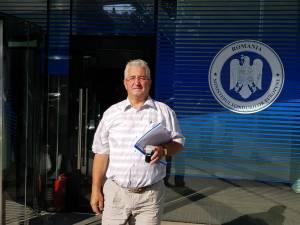 Ion Lungu la ieșirea din Ministerul Fondurilor Europene