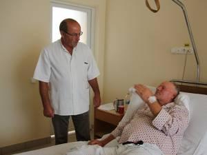 Dr. Ştefan Pușcașu și pacientul Olimpi Antonov