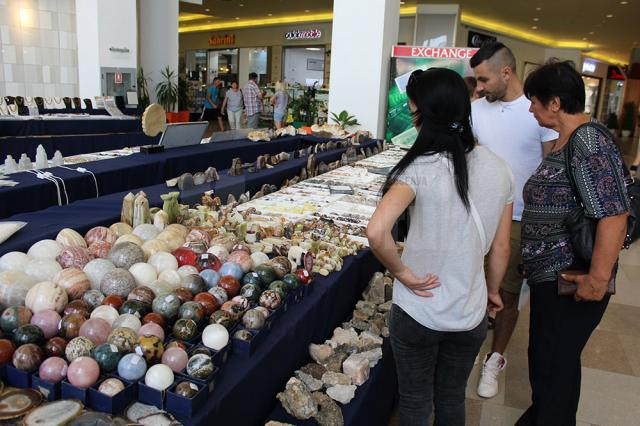 Expo Mineralia este deschisă până marţi, 15 august