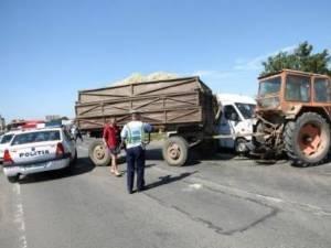 Accidentul s-a produs din cauza tractoristului