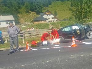 În ciuda eforturilor făcute de paramedici, Vasile Marocico nu a mai putut fi salvat, fiind declarat decedat Foto: Beatrice Calancea