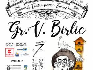"""Festivalul Internaţional de Teatru pentru Tineret """"Gr. V. Birlic"""""""
