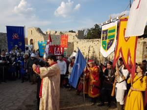 Festivitatea de deschidere a Festivalului Medieval a avut loc în curtea interioară a Cetății de Scaun Suceava