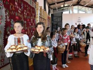 Primirea copiilor din Fălticeni la Moldoviţa