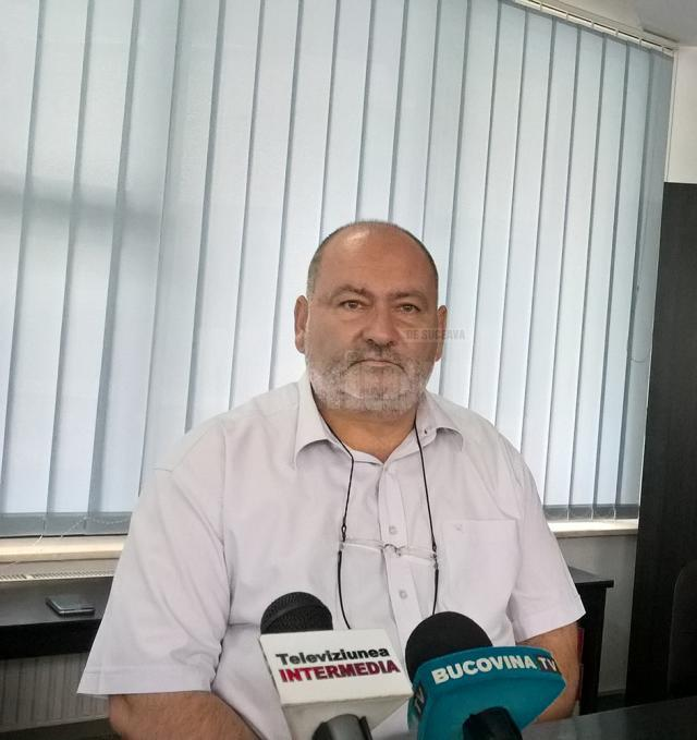 Șeful Serviciului Control în Sănătate Publică Suceava, dr. Dinu Sădean
