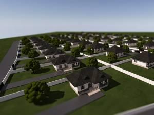 Toate casele vor fi amenajate în stil tradiţional bucovinean
