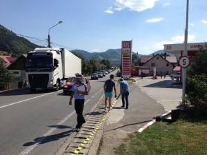 Poliţiştii de la Câmpulung Moldovenesc au de acoperit zeci de kilometri de drum naţional și judeţean