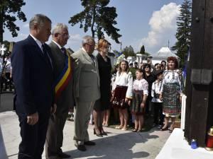 Placă comemorativă, în semn de omagiu adus eroului Ion Grămadă