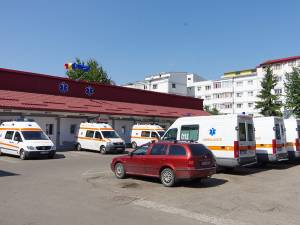 Ambulanțele A și B din dotarea SAJ Suceava